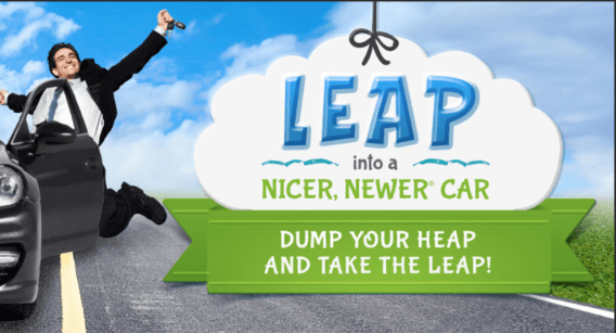 Leap into a Nicer, Newer Car
