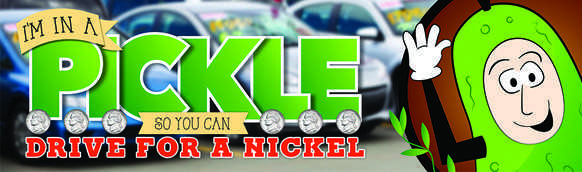 Nickle Pickel Banner for Specials